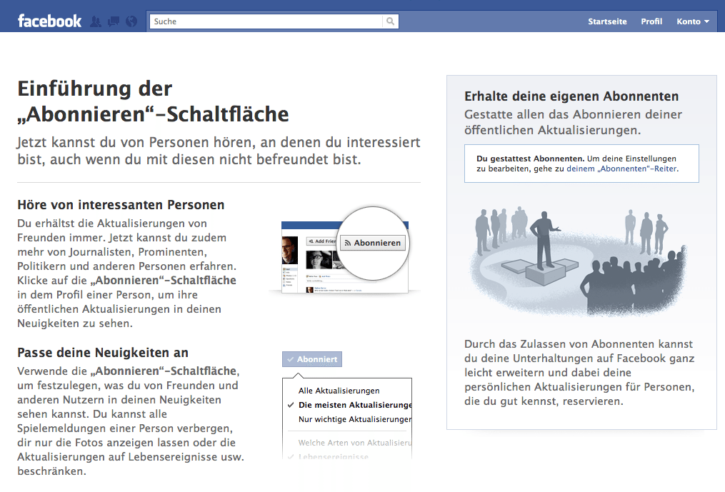 freunde sichtbar machen facebook