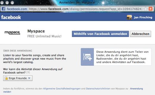 beim neuen facebook anmelden