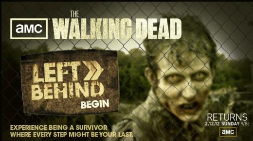 Facebook App con The Walking Dead