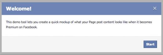 Facebook Demo Tool für Facebook Anzeigen