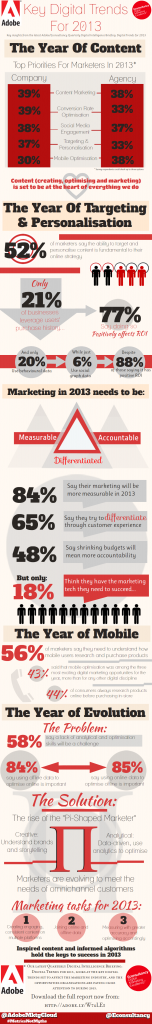 Digital Trends 2013 Infografik