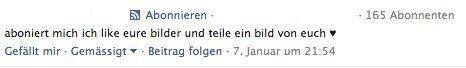 Facebook Kommentar Spam II