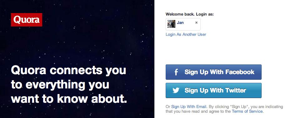 Social Logins - Alternativen anbieten