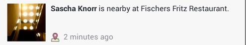 Facebook Benachrichtigungen Check-Ins von Freunden