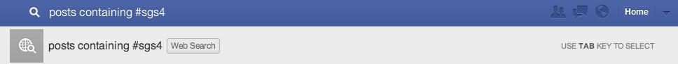 Kommen Hashtags für Facebook Posts