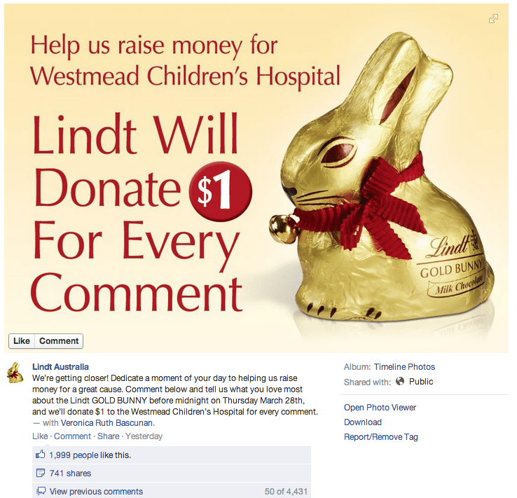 Facebook Community Management Fails - Lindt