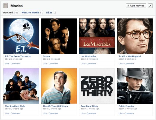 Facebook Redesign Chronik