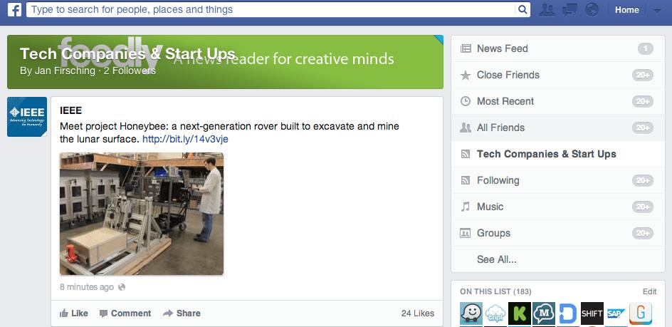 Facebook Newsfeed - Welche Feedansichten nutzt ihr?