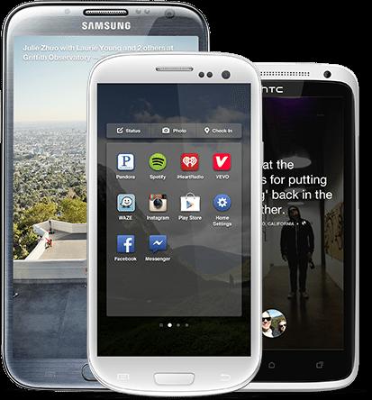 Facebook Home - App Launcher