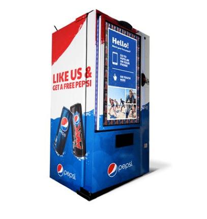 Pepsi Belgien - like Machine