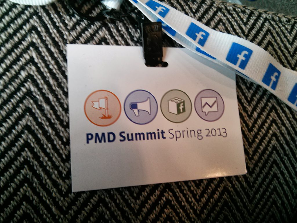Facebook PMD Summit 2013