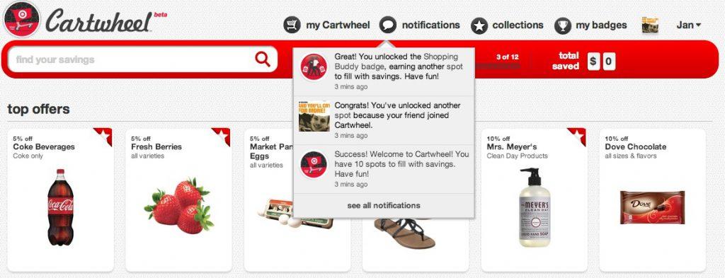 Target Cartwheel Social Commerce