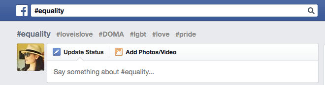 Facebook Related Hashtags