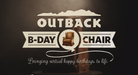 Outback Facebook B-Day-Chair