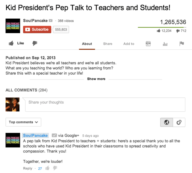 Google+ Verbindung YouTube Kommentare