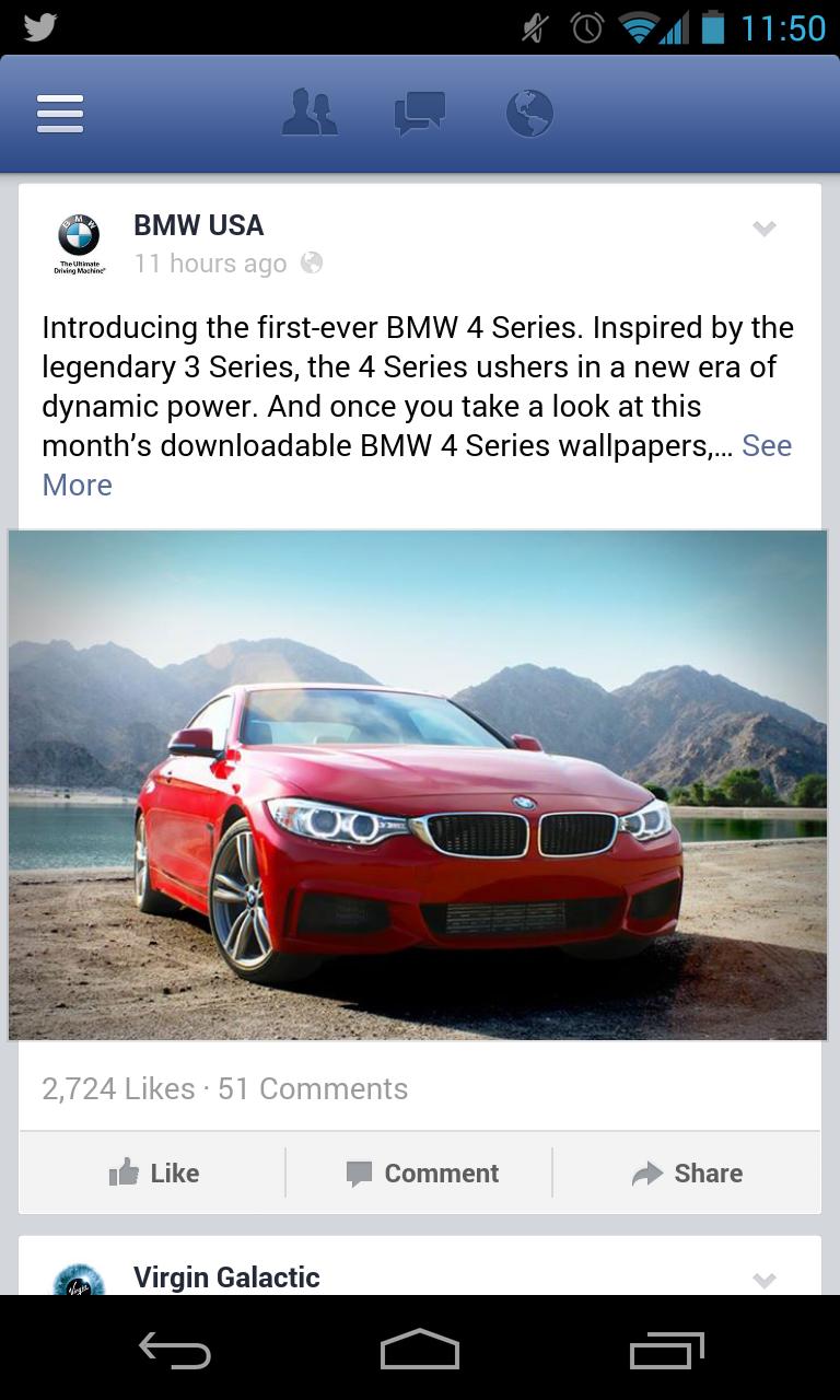 Facebook Anzeigen - Mehr Anzeigen mobile I