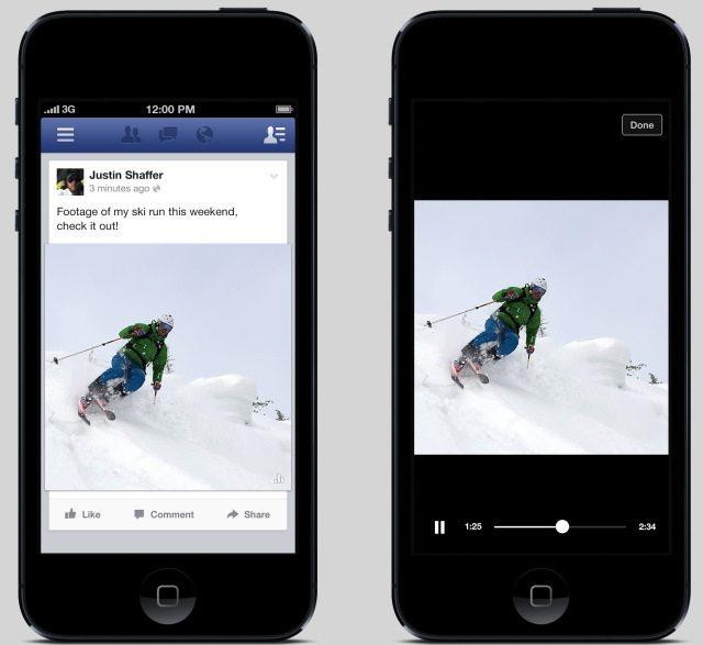 Auto-Play Facebook Videos
