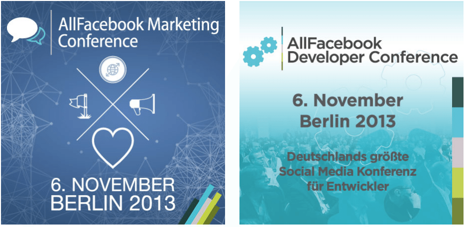 AllFacebook Marketing & Developer Conference am 06. November 2013 in Berlin