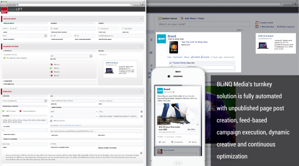 Facebook PMD Innovation Competition - BLiNQ Media