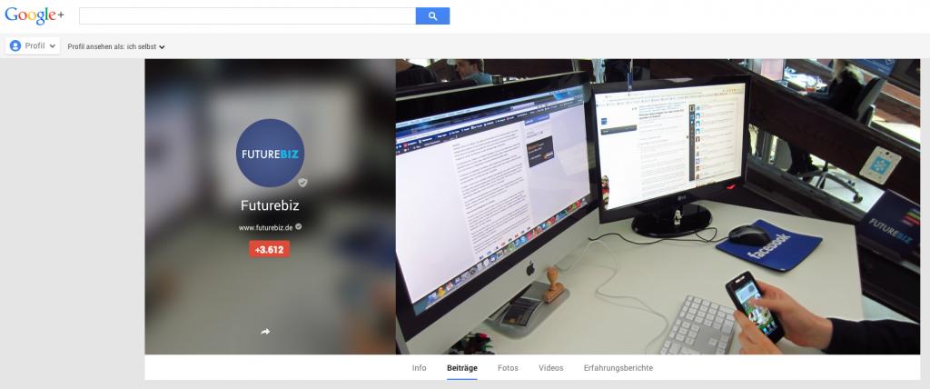 Google+ Hintergrundbilder