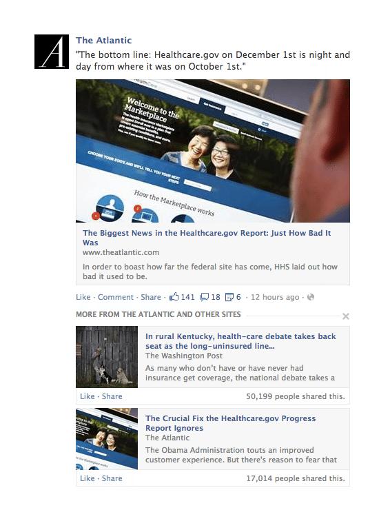 Facebook News Feed Algorithmus