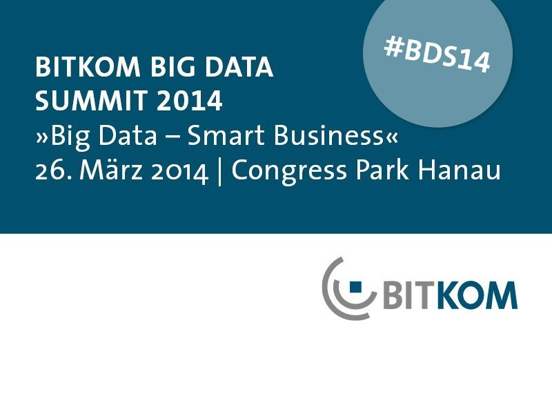 BITKOM Big Data Summit 2014