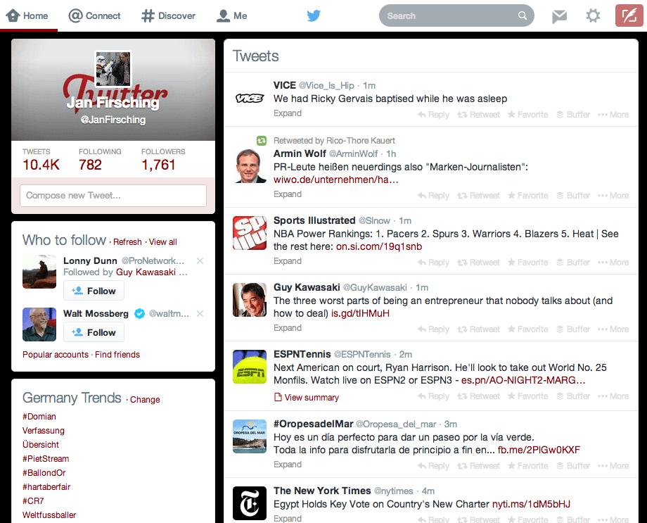 Twitter Design