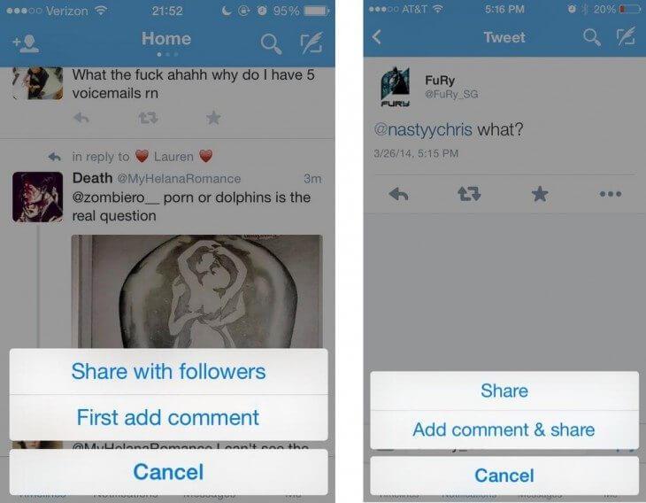 Das Ende vom Retweet - Twitter Share Button