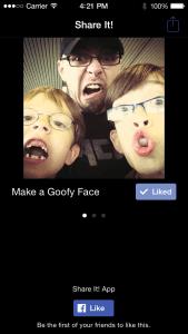 Facebook mobiler Like Button für Android und iOS mit besserer Performance