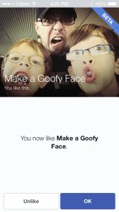 Facebook mobiler Like Button für Android und iOS mit Like-Dialog