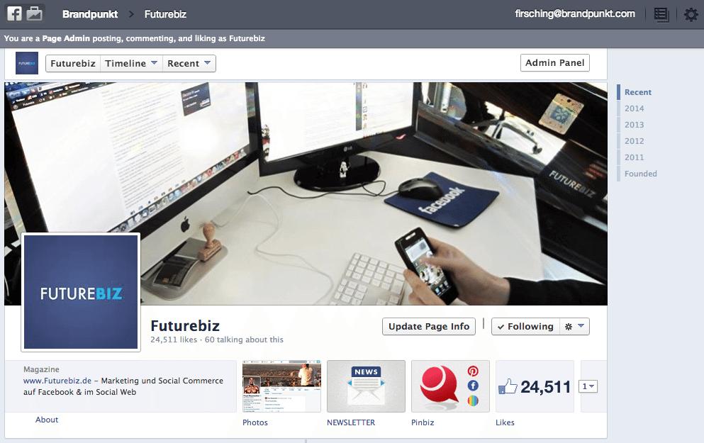 Facebook Business Manager - Seiten verwalten