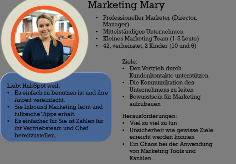 Content Marketing Kampagne - Buyer Personas