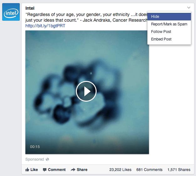 Facebook erhöht Anzahl von News Feed Anzeigen