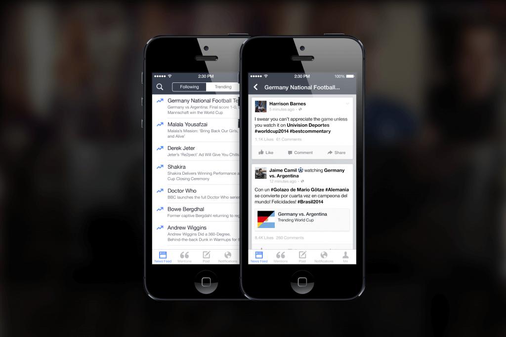 Facebook Mentions - Facebook Trending Topics überwachen
