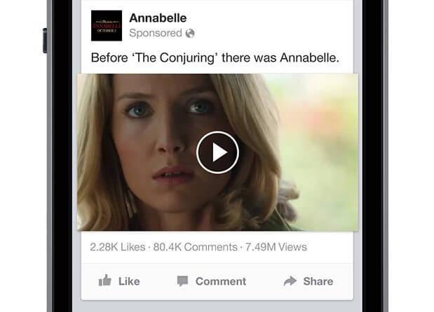 Facebook Videos - Öffentliche Anzeigen von Views
