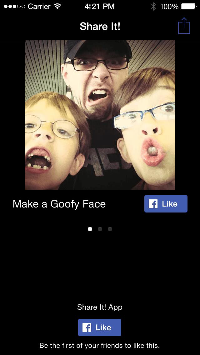Facebook Gefällt mir Button - Mobile Integration