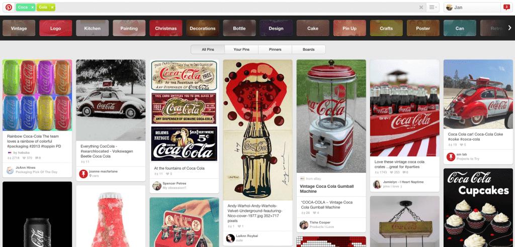 Pinterest Marketing - Pinterest Suche einsetzen um Unternehmensinhalte zu finden