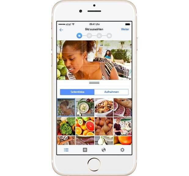 Werbetreibende Unternehmen auf Facebook - Facebook Mobile App für den Werbeanzeigenmanager