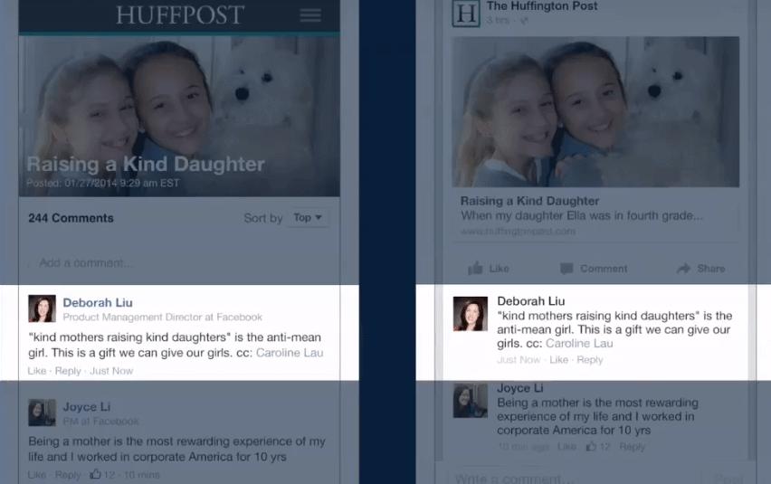 Facebook Comments Plugin - Snychronisierte Kommentare Facebook und Webseite