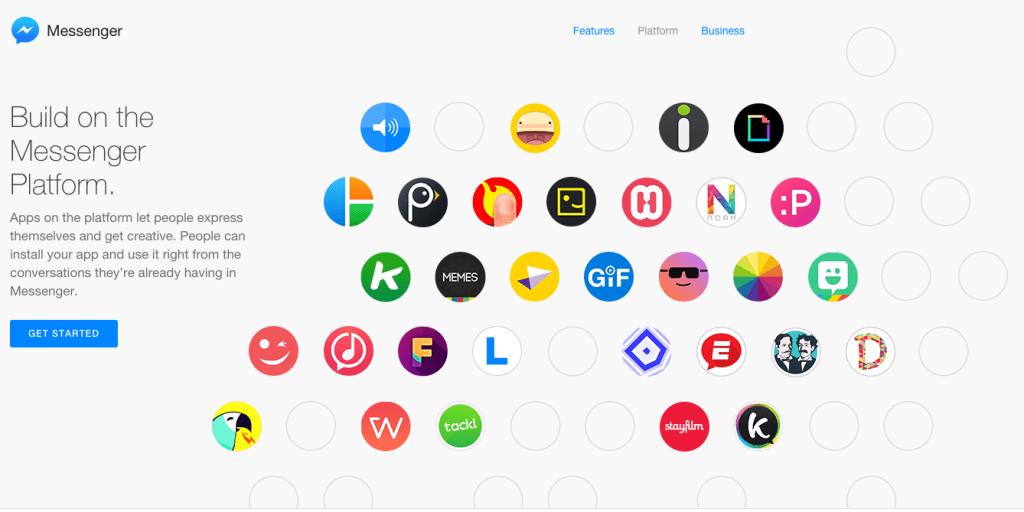 Facebook Messenger Plattform - Mobiles Teilen von animiertem Content