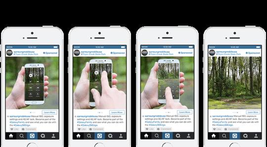 Instagram Anzeigen - Instagram Carousel Ad für Produkte