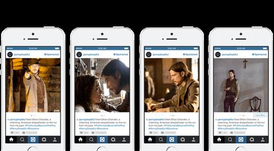 Instagram Anzeigen - Instagram Carousel Ads