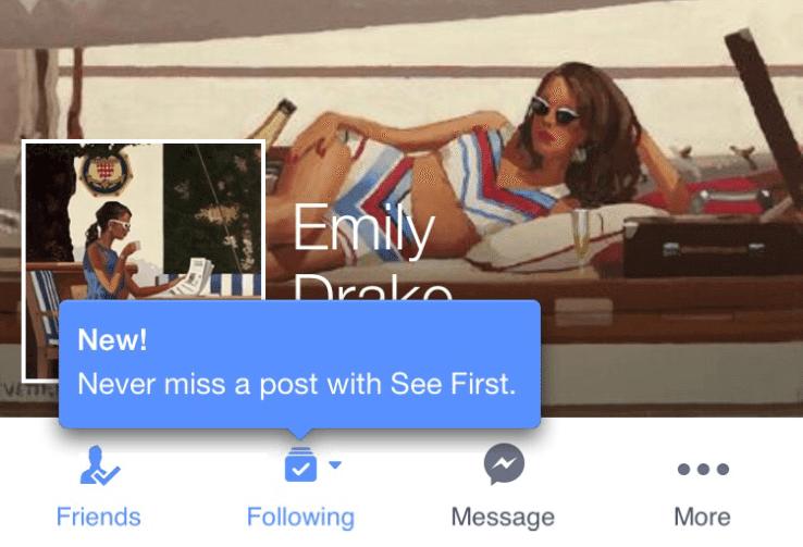 Facebook News Feed - Inhalte von Seiten und Freunden für den News Feed auswählen