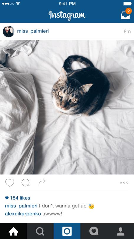 Instagram Direct - Instagram Fotos mit Freunden teilen