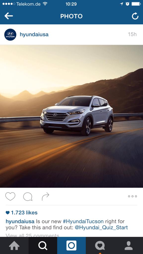 Instagram Kampagnen - Kommunikation im Instagram Feed