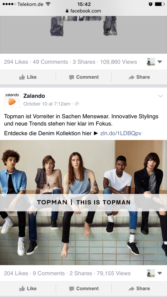Facebook Seiten - Facebook zeigt Aufrufe von Beiträgen öffentlich an XIII