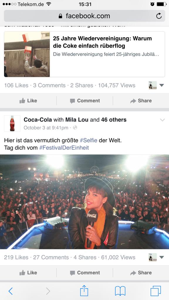 Facebook Seiten - Facebook zeigt Aufrufe von Beiträgen öffentlich an V