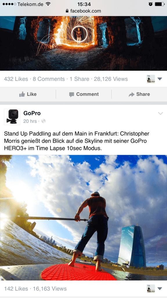 Facebook Seiten - Facebook zeigt Aufrufe von Beiträgen öffentlich an VIII