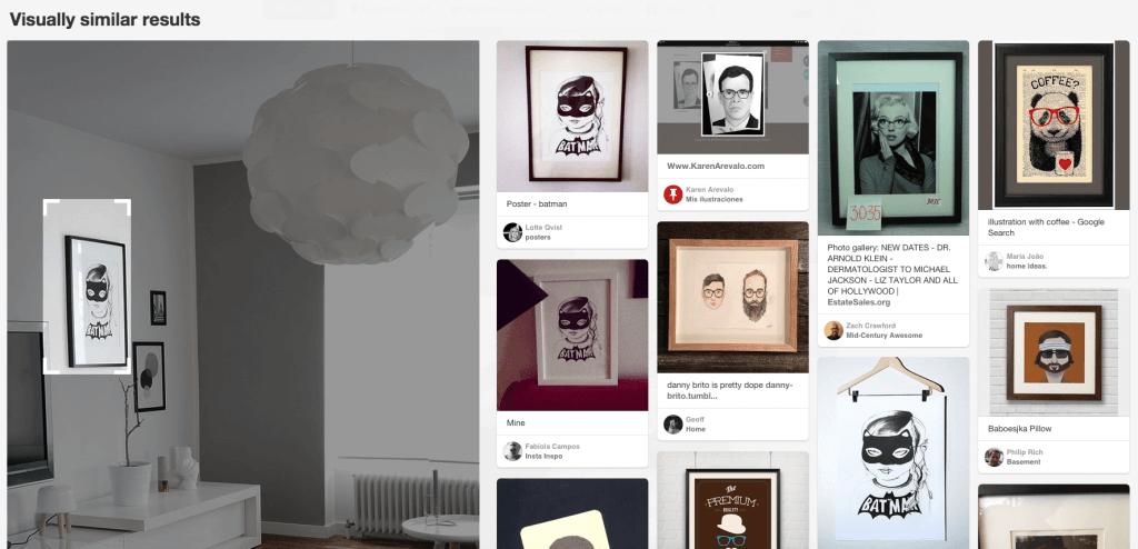Pinterest Suche - Neues Feature mit Bilderkennung