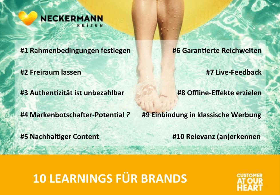 Influencer Marketing - 10 Regeln für Brands